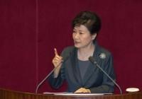朴槿惠批国会伪善:迟迟不批准中韩自贸协定,是玩忽职守