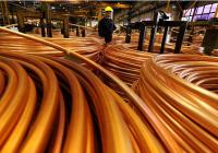 今年平均铜价料跌至4858美元 创2005年以来最低