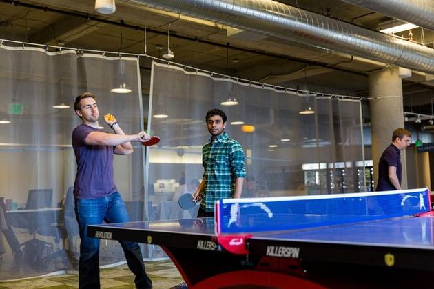 硅谷科技公司业绩如何?兵乓球桌竟是晴雨表(组图)