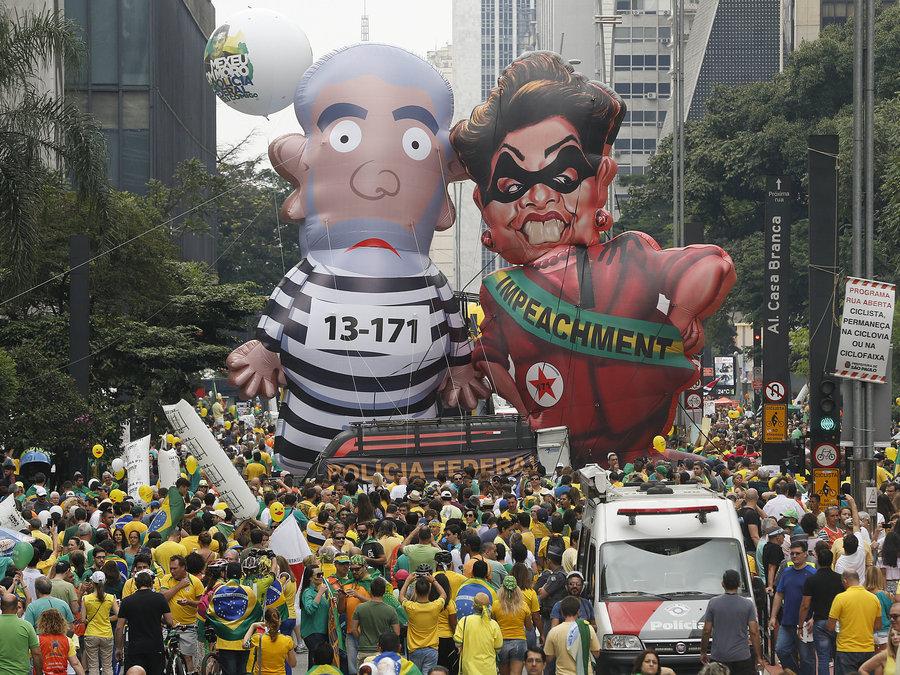 巴西危机:经济加速衰退