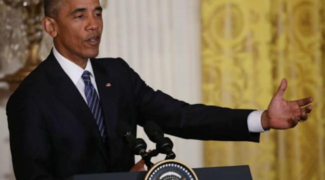 """奥巴马:特朗普""""不适合""""当总统"""