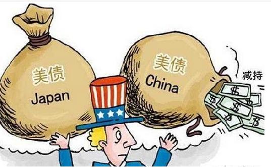 中国和日本正以前所未有的速度抛售美债