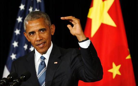 奥巴马任期将满 他在中国最后一次新闻发布会说了啥