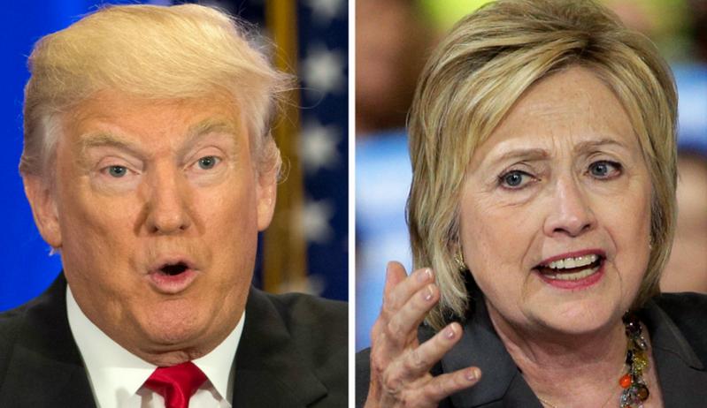 克林顿VS 特朗普: 无从选择