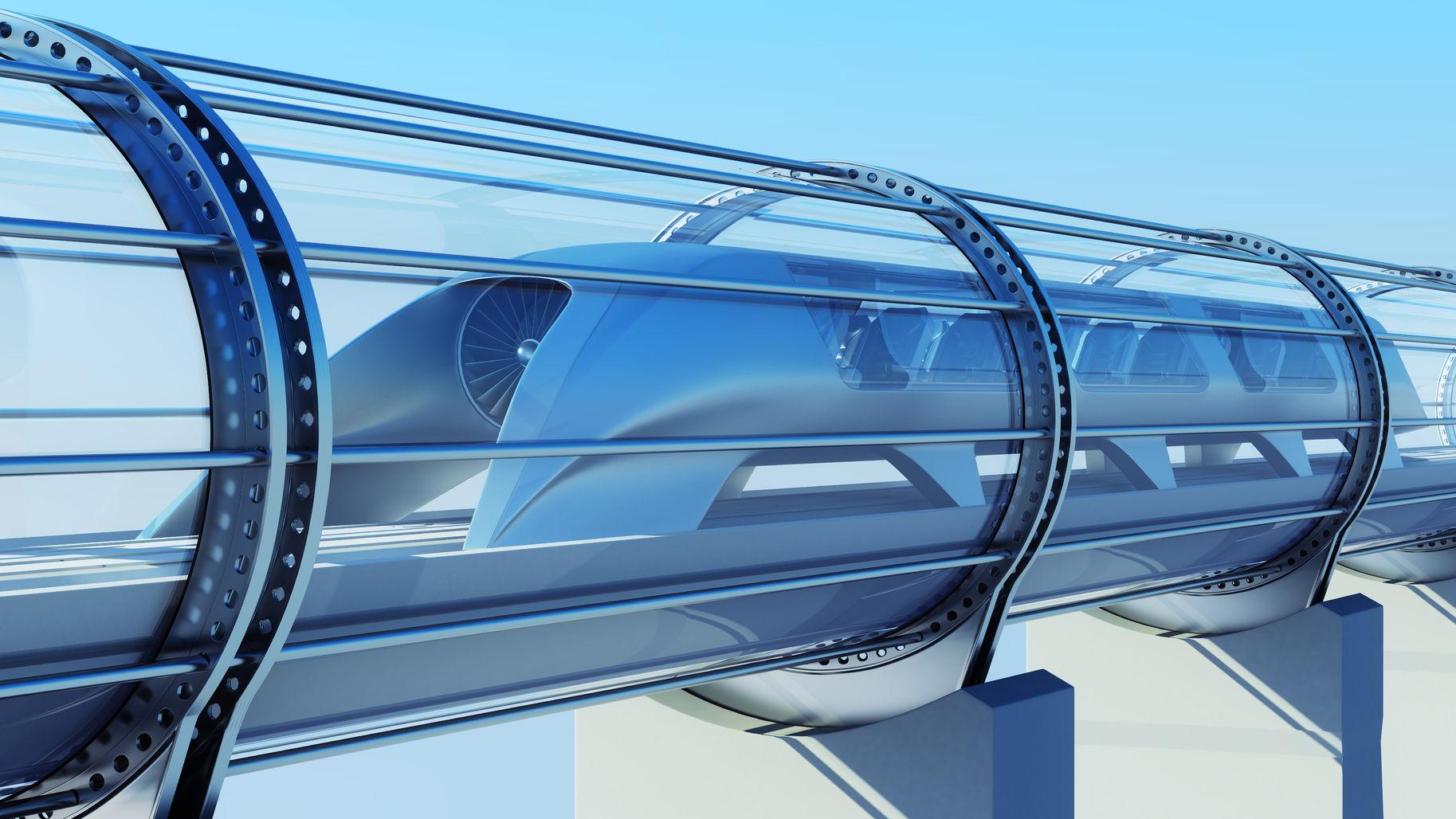 超级高铁速度超飞机 建成你敢坐吗