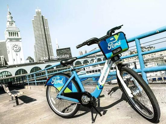福特在美国试水共享单车 单次骑行30分钟收费3美元