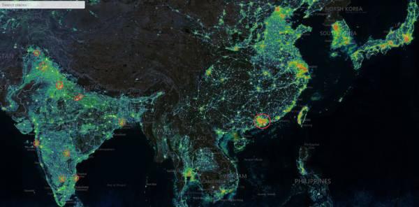全球灯光图上为何印度比中国亮?国家电网出面解释了